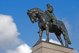 jezdecká socha Jana Žižky 7
